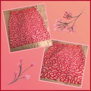 Antonio Melani • Floral Pencil Skirt